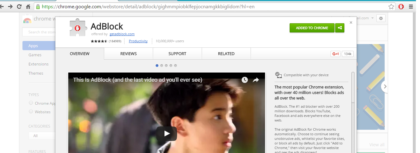 Get ad blocker get rid of all unwanted ads while browsing especially YouTube ads